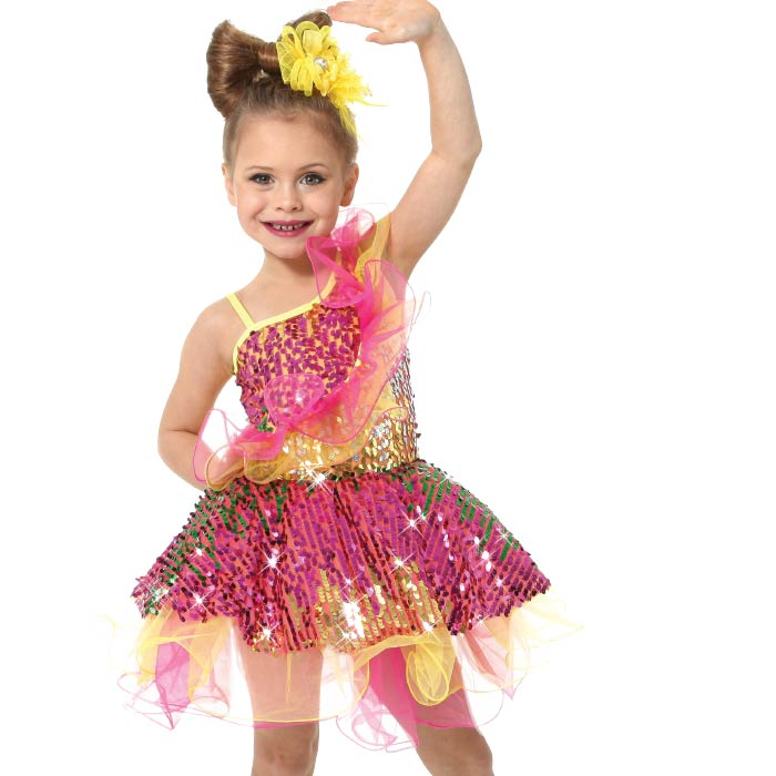 Gold With Black Sequin Trim Youth /& Adult Jazz//Hip Hop Overalls Dance Costume