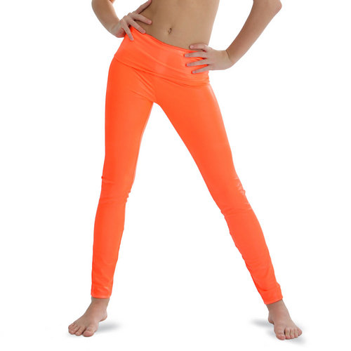 Neon Orange Leggings
