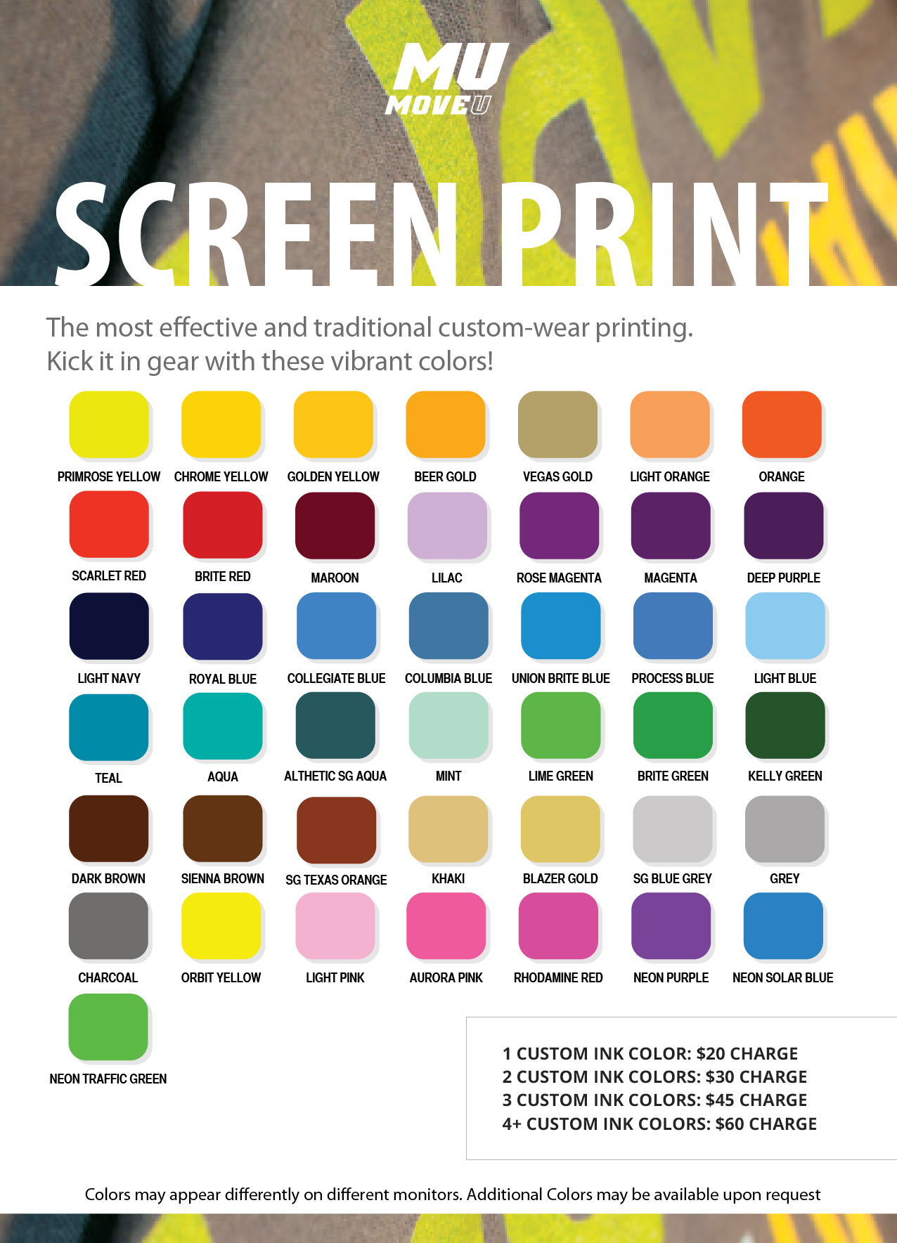 Sreen-print-swatches
