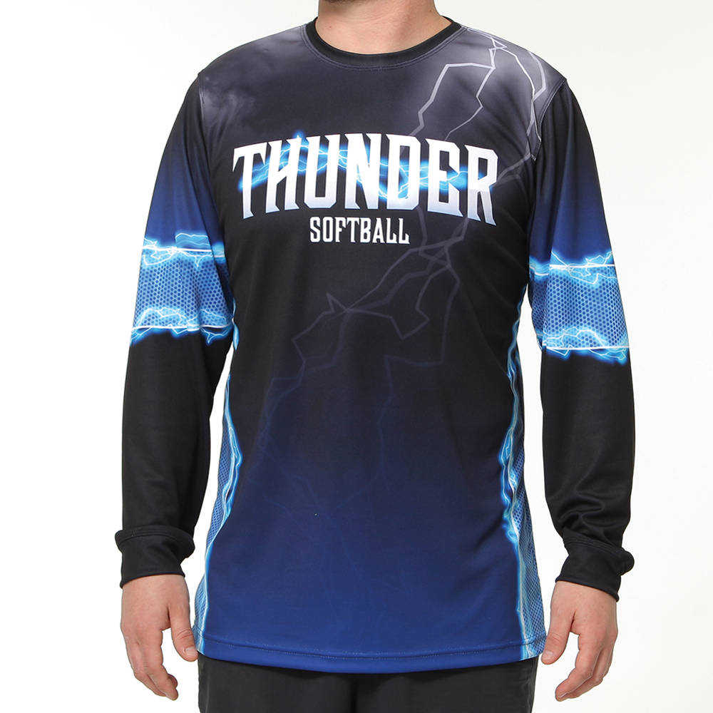 thunder design softball jersey
