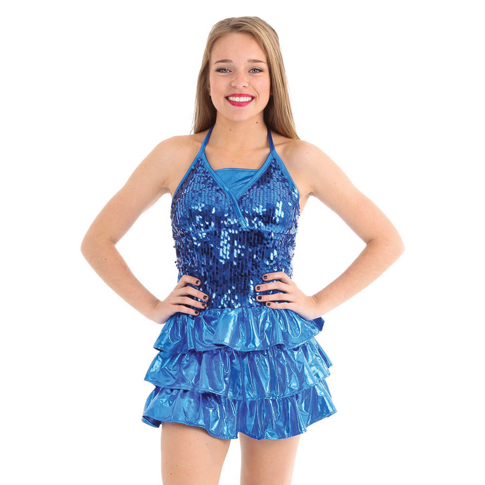 73b0afb1cf7 Alexandra Sequin Ruffle Dress