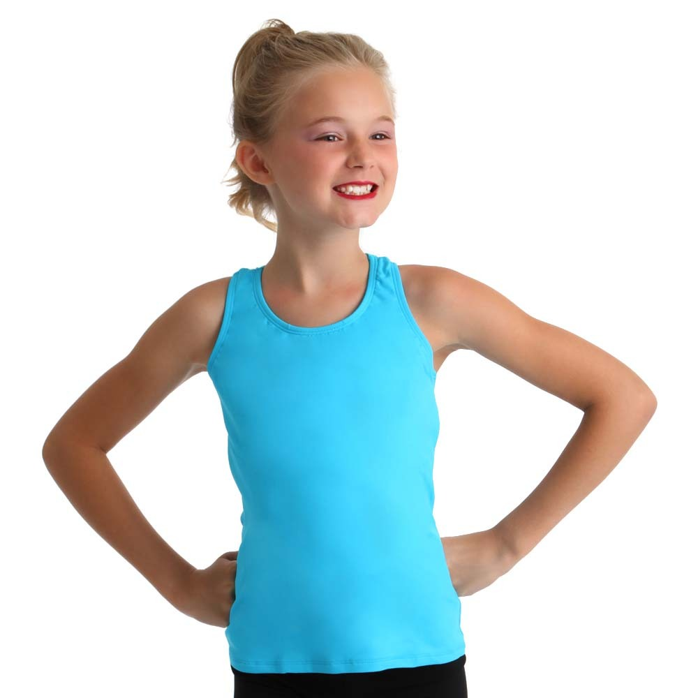 71a7f37bca7 Body Wrappers Youth Racerback Back Pullover Tank