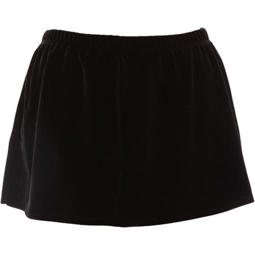 velvet a line skirt bs315