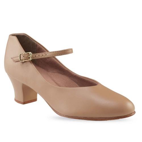 White Character Shoes Capezio Footlight