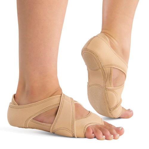 Neoprene Cross Wrap Dance Shoes