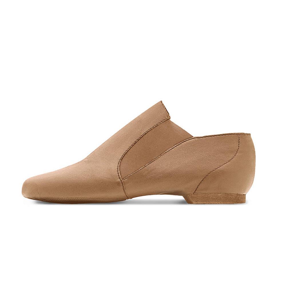 Kids Tan Jazz Shoes