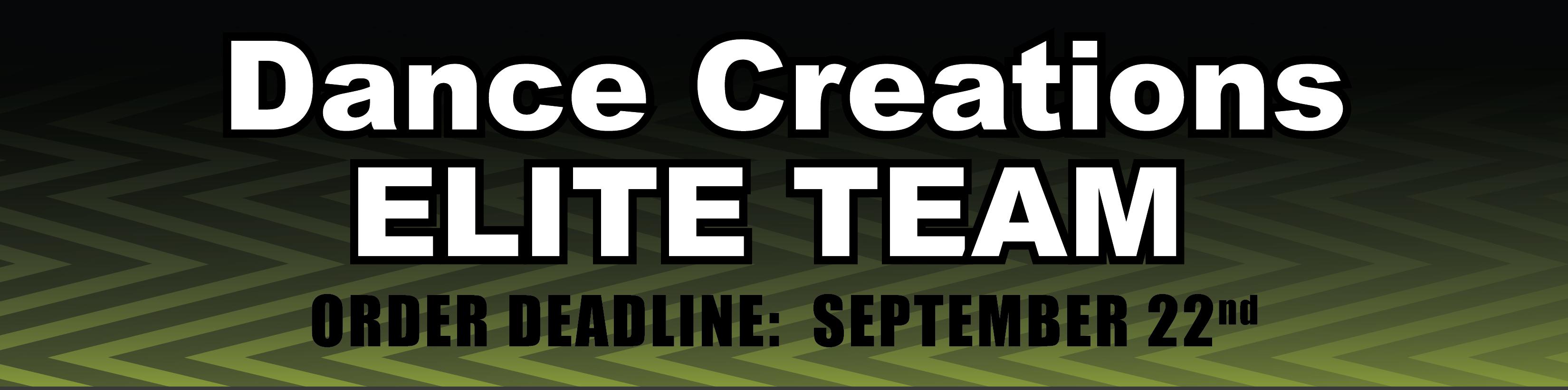 Dance Creations Elite Team
